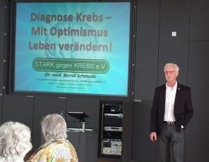 Vortrag: Diagnose Krebs – Mit Optimismus Leben verändern! – Heilungschancen nutzen statt Ende beschließen! @ 27472 Cuxhaven, Grüner Weg 18 | Marnach | Diekirch | Luxemburg